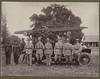 NIGERIA COLONY FIRE BRIGADE, c. 1925 (tobyjug5) Tags: colonial empire british service fire history photo album foreigncommonwealthoffice westafrica nigeria archival police uniforms engine lagos