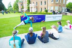 Fitness instruction (Ladies European Tour) Tags: denham buckinghamshire england eng