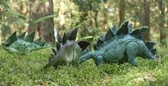 Jurassic Park Stegosaurus (rodstoybox) Tags: dinosaurs dinosaur stegosaurus stegosaurs jurassicpark jurassicworld lostworld fallenkingdom toys kenner mattel