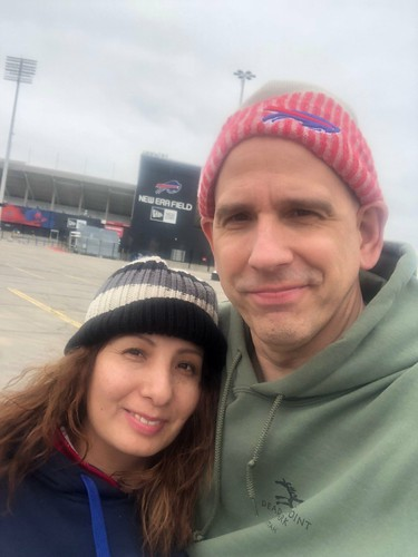 Saying hello to New Era Field, home of the Buffalo Bills