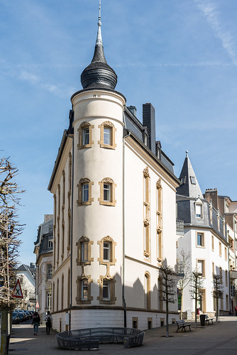 Luxembourg, Old house in La Gare
