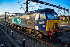 57304 - Rugby - 05/05/18. (TRphotography04) Tags: direct rail services drs 57304 pride cheshire stands rugby