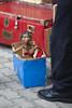 Life in a box (leodamico77) Tags: madera rosso blue red life marionette wood legno vita occhi gare sguardo gipsy marionettist 5d marionetta art streetart rom artist artista show spettacolo dof canonef135mmf2lusm