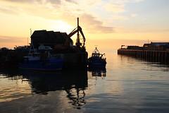 Light (NovemberAlex) Tags: colour light reflections sunset whitstable kent silhouette water seaside boats
