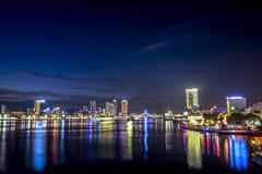 Da Nang city (Phạm Minh Khanh) Tags: nightscape longexposure city danang vietnam landscape fujifilm xt10 1855 river travel