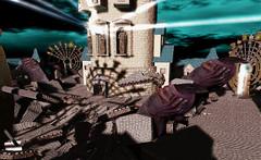 """... coming to getcha!"" (A Lone) Tags: second life secondlife sl virtual dark light shadow art firestorm gimp photography windlight photo sim 3d monster hand creep purple nails surreal fantasy fantasyfaire faire relayforlife rfl"
