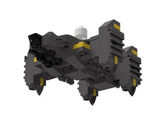 The Raza VTOL (xadrian) Tags: darkmatter lego moc microfighter scifi