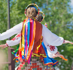 Celebration of Spring (~DGH~) Tags: 2018 celebrationofspring may pentaxk50 ukrainianculturalheritagevillage costumes dancers ribbons traditional ~dgh~ alberta canada colourful