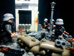 "LEGO M.O.C. ""The Defense Of Berlin""  P.S. Did specifically for the contest (A.V.V.) Tags: lego moc thedefenseofberlin ww2"