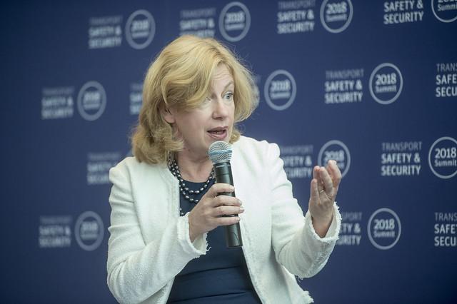 Nancy Vandycke speaking