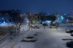 Morning snow, Denver (Inklaar) Tags: sneeuw noordamerika usa denver ontheroad colorado inklaarseeall ochtend schemering fujifilmx100 2017 unitedstates verenigdestaten x100 morning snow us