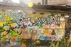 Ballarò - Palermo (fede_gen88) Tags: palermo sicilia sicily italia italy ballarò piazzetta eccehomo viacasaprofessa casaprofessa streetart colourful colours colors colorful blue sky sunny painted wall art sunlight