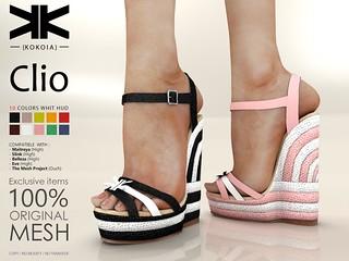 Clio :: Woman Shoes :: 10 Colors