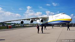 Antonov AN-225 (jakobwert) Tags: airplane aircraft airport ber sxf berlinbrandenburg ila ilaberlin airshow airline airplanes sun clouds aviation avgeek an225 antonov airlines cargo jet ukraine ila2018 berlin