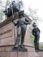 23rd Royal Welsh Fusiliers, Arthur Wellesley, 1st Duke of Wellington, Sir Joseph Edgar Boehm (Sculptor), Hyde Park Corner, London (2) (f1jherbert) Tags: canonpowershotsx620hs canonpowershotsx620 canonpowershot sx620hs canonsx620 powershotsx620hs canon powershot sx620 hs powershotsx620 powershoths londonengland londongreatbritian londonunitedkingdom greatbritain unitedkingdom london england uk gb great britain united kingdom sculptures art sculptors
