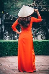 Lyn modelling in a red Ao Dai traditional Vietnamese Dress (Paul D'Ambra - Australia) Tags: aodai dress hanoi model reddress sexywomaninreddress temple traditionaldress vietnam vietnamesetraditionaldress woman womaninreddress womaninreddressintemple womanwithniceboobiesinreddress thànhphốninhbình ninhbình lalentephotography pauldambra