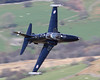 Long Sheep (Treflyn) Tags: zk037 panning pan extended long sheep hillside raf royal air force bae hawk t2 ab cad west pass mach loop lfa7 low level training sortie
