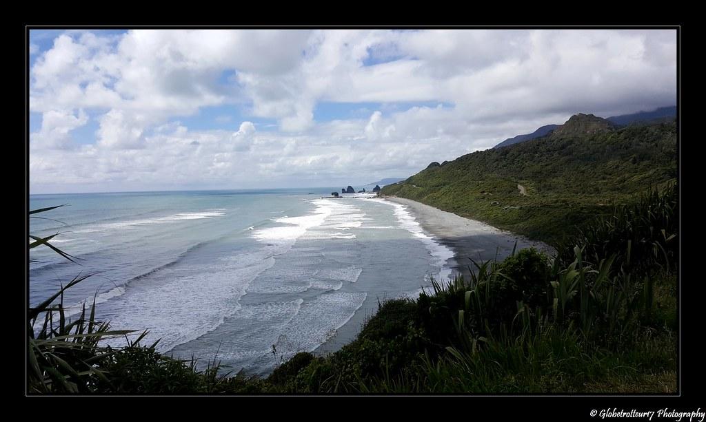 """Une série sur notre """"Road Trip"""" en Nouvelle-Zélande- Great Coast Road- Nouvelle- Zélande."""