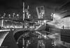 GUGGENHEIM BILBAO (_Pablete_) Tags: bilbao guggenheim bw city refkkections