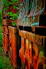 Je me contiens (CELURBEX) Tags: vaucluse ancien abandonado abbandonato abandoned abandonné old vieux explorar esplorare explore wasteland friche oublié urbex exploration urban graffity graff tag water eau industrie production lumix carton papier
