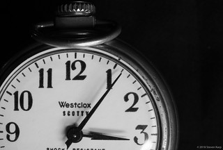 Westclox Scotty ©2018 Steven Karp
