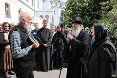 16. Паломники из Сербии в Лавре 15.05.2018 г
