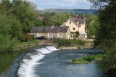 Mill Street Weir (Badly Drawn Dad) Tags: gbr geo:lat=5236343132 geo:lon=272201032 geotagged ludlow riverteme shropshire unitedkingdom