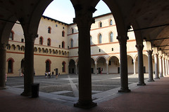 tour of Castle Forzesco (scott1346) Tags: arches multiplication contrast light shadow building windows castle architecture 1001nights square 1001nightsmagiccity canon