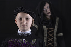Tallua & Rosie (Duncan Lawler) Tags: portrait conceptual victorian models young youngmodels studio darkimages surreal
