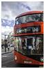 London red 0AZ (ANGEL PAZ MIGUEL) Tags: red travel london blue city street reflection nikon nikor bus uk flickr 500px viaje family