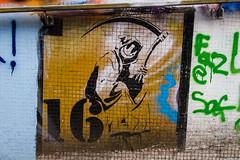 Smiley Reaper 16 (PDKImages) Tags: bristol bristolstreetart street art urban banksy ukstreetart cityscene scene smiley reaper 16