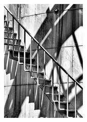 Xstairs (leo.roos) Tags: storagetank tank reservoir opslagtank stairs staircase stairway trap noiretblanc konwilhelminahavennoordzijde harbour haven vlaardingen meyerorestor13528 1969 m42 zebra a7rii day135 dayprime dayprime2018 dyxum challenge prime primes lens lenzen brandpuntsafstand focallength fl darosa leoroos