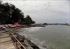 Sumatra Pariaman Beach 20180107_113016 DSCN1206 (CanadaGood) Tags: asia seasia asean indonesia indonesian sumatra westsumatra sumaterabarat pariaman beach sea indianocean tree shore umbrella canadagood 2018 thisdecade color colour