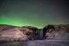Skogafoss under Aurora & Stars (Flip_Over) Tags: island iceland polarlicht aurora stars skogafoss wasserfall landscape landschaft langzeitbelichtung travel zeiss 25mm sterne sonya7ii ngc