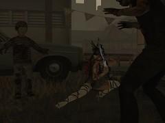 The Warrior (Sangi Phaeton SL) Tags: lefashionwhore blossom blogbysangi escalated virtualdecay zombie