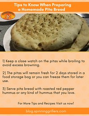 Tips to make pita bread at home (spinninggrill) Tags: pitabread pitabtreadoven pitaoven appliances recipes bread