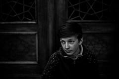 Gaspard, Shiraz 2018 (PaxaMik) Tags: portrait portraitnoiretblanc noiretblanc noir blackandwhitephotos black freckles frenchportrait shiraz iran travelinginiran