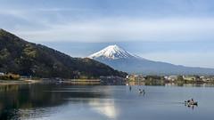 逆富士 IV (Raymond.Ling.43) Tags: 河口湖 逆富士 japan spring daybreak reflection mtfuji may lake 湖泊 水 天空 安詳 富士吟景 169 6d canon