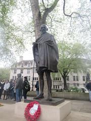 Mahatma Gandhi, Philip Jackson (Sculptor), Parliament Square, Westminster, London (2) (f1jherbert) Tags: canonpowershotsx620hs canonpowershotsx620 canonpowershot sx620hs canonsx620 powershotsx620hs canon powershot sx620 hs powershotsx620 powershoths londonengland londongreatbritian londonunitedkingdom greatbritain unitedkingdom london england uk gb great britain united kingdom sculptures art sculptors