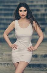Krizia (Vagelis Pikoulas) Tags: woman women girl girls beautiful beauty portrait sigma 85mm art f14 italian greece athens photography photoshoot bokeh canon 6d 2018 spring april dress