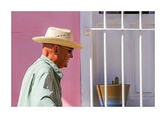 L'homme au chapeau et le cactus -Photo de rue, Cuba-4192IMG_4192 (helenea-78) Tags: cuba fenêtreporte pays personnes portrait trinidad chapeau