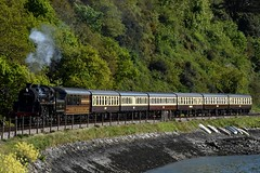 Braveheart leaving Kingswear 8 May (Edzfotts) Tags: devon dart
