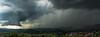 Nuage mur et foudre, Vidauban, 10 Mai 2018. (Enzo R.) Tags: supercellule vidauban orage storm clouds supercell var france foudre lightning nature weather météo may mai spring printemps