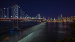 San Francisco Skyline (Juan Pablo J.) Tags: california cityscape canon5dmkii canon24105mmf4l city color nocturna nigth nightphotography sanfrancisco longexposurephotography lights landscapes landscape