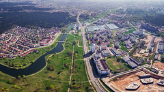 Minsk Aerial (free3yourmind) Tags: minsk aerial belarus above view xiaomi mi drone quadcopter green city river