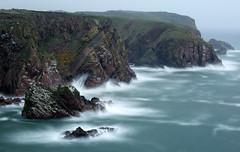 Bullers of Buchan (PeskyMesky) Tags: aberdeenshire bullersofbuchan peterhead scotland longexposure landscape cliffs water sea ocean canon canon6d leefilter