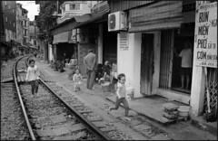 .Hanoi, train street. (.nora.) Tags: hanoi vietnam trainstreet suchaplace suchacrazyplace nora norina analog analogica film filmmonamour canoneosrebelfilmcamera eleonorazaniboni twotimesaday