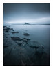 Mounts Bay (David Haughton) Tags: marazion stmichaelsmount mounts bay le longexposure cornwall cornish coast shore blue hour