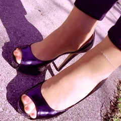 sexy stockinged feet (pbass156) Tags: nylon nylons pantyhose pedicure paintedtoes feet foot footfetish fetish sexy sandals shoes sandalias strappy silky stockings sheer stocking