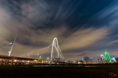 Downtown (aliabdullah.176) Tags: dallas downtown bridge architecture texas travel landscape t3i 1018mm wideangle night longexposure hdr
